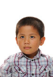 Asian Boy looks happy Royalty Free Stock Image