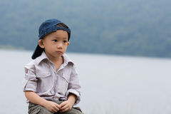 Asian boy portrait Royalty Free Stock Photo