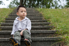 Asian boy portrait Stock Photography