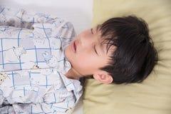 Asian boy sleep Royalty Free Stock Photo