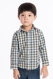Asian boy studio portrait Royalty Free Stock Images