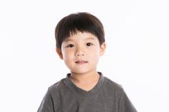 Asian boy studio portrait Royalty Free Stock Photos