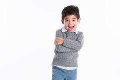 Asian boy - various images of isolation. Shot royalty free stock photos