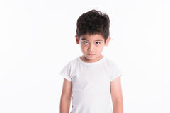 Asian boy - various images of isolation Stock Image
