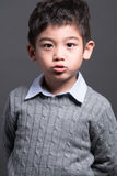 Asian boy - various images of isolation. Shot Royalty Free Stock Photography