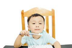 Asian boy Royalty Free Stock Photos