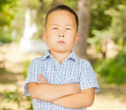 Asian boy 6 years Royalty Free Stock Photography