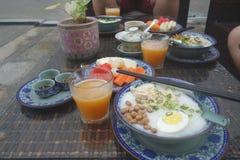 Asian breakfast Stock Photography