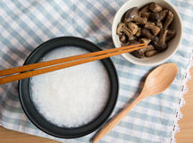 Asian breakfast style Stock Images