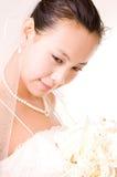 Asian bride Royalty Free Stock Photo