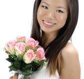 Asian bride royalty free stock photos