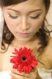 Asian bride Royalty Free Stock Photography
