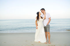 Asian bride and groom Stock Photo
