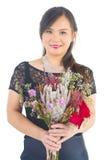 Asian bride. At indoor studio Stock Image