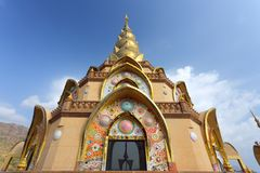 Asian buddhist temple Royalty Free Stock Image