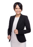 Asian business assistant Stock Image