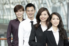 Asian Business colleagues Royalty Free Stock Photos