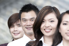 Asian Business colleagues Stock Photos