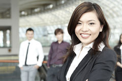 Asian Business colleagues Stock Images