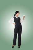 asian business confident woman στοκ φωτογραφία με δικαίωμα ελεύθερης χρήσης