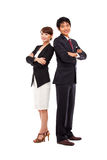 Asian Business couple Royalty Free Stock Images