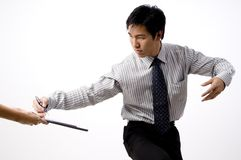 Asian Business Deal Stock Images