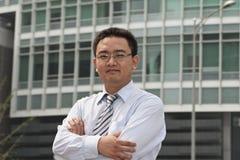 Asian business executive Stock Photos