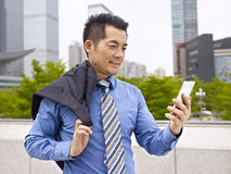 Asian business executive Stock Photos