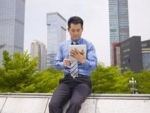 Asian business executive Stock Image