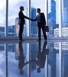 Asian Business Handshake Stock Image