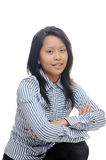 Asian business lady Stock Images