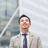 Asian business man Royalty Free Stock Photos