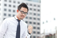 Asian business man Stock Photos