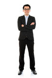Asian business man full body Royalty Free Stock Photo
