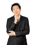 Asian business man over white Stock Images