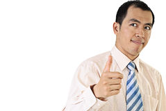 Asian business man portrait Royalty Free Stock Photo