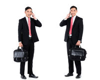 Asian business man  professional Royalty Free Stock Images