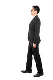 Asian business man walking Royalty Free Stock Photos