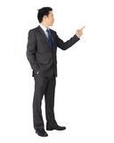 Asian business man on white. Stock Images