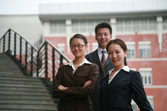 Asian business people Stock Image