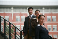 Asian business people royalty free stock images