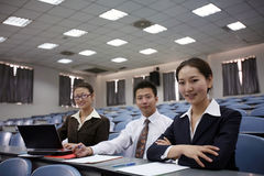 Asian business people Royalty Free Stock Photos