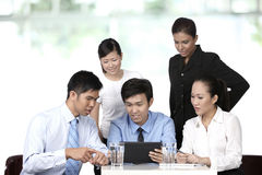 Asian business people having a meeting Stock Images