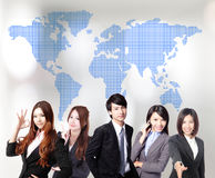 Asian business people team Stock Images