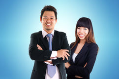 Asian business peoples Stock Photo