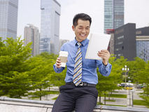 Asian business person Royalty Free Stock Image