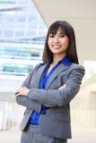 asian business pretty woman στοκ εικόνα με δικαίωμα ελεύθερης χρήσης