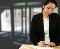 Asian business representative Stock Photos