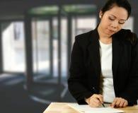 Asian business representative Stock Photos