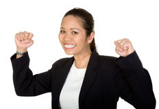 Asian business success Royalty Free Stock Photo